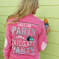 Jadelynn Brooke Ain't No Party Like A Tailgate Party - Long Sleeve