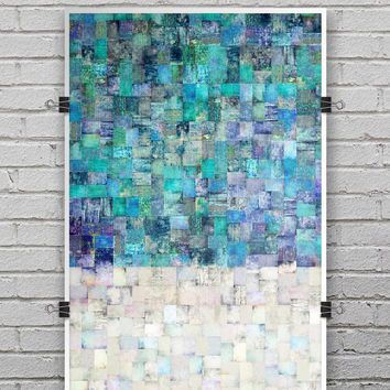Tiled Paint - Ultra Rich Poster Print