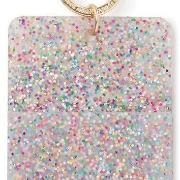 Kate Spade New York Women's Why Hello Glitter Id Clip, Multi
