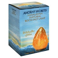 Ancient Secrets Rock Salt Lamp, Himalayan Natural, Large, 1 Lamp