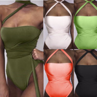 Trendy One-Piece Stylish Monokini Swimsuit