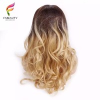 Ombre blonde lace wigs
