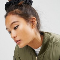 ASOS Pack of 2 Large Jersey Hair Scrunchies at asos.com