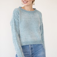 Sonia Sweater - Blue Mist