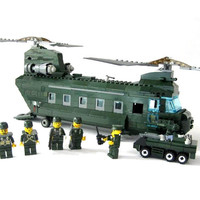 Chinook Helicopter - LEGO Compatible