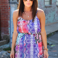Tropics With You Dress