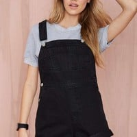 RES Denim Sadie Shortalls - Black