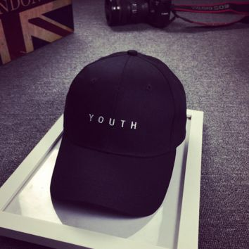 Cute YOUTH Embroidered Baseball Cap Hat