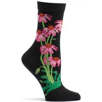 Echinacea Sock Apothecary Florals