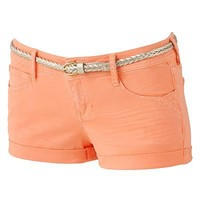 Candie's Roll-Cuff Shortie Shorts - Juniors