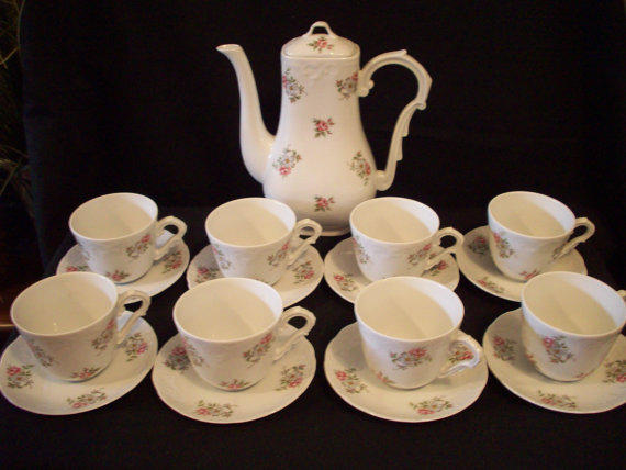 Vintage Tea Set Princess House Porcelain From Annetteattic On
