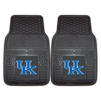 Kentucky Wildcats NCAA Heavy Duty 2-Piece Vinyl Car Mats (18x27)