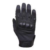 Rothco's Carbon Fiber Hard Knuckle Cut/Fire Resistant Gloves