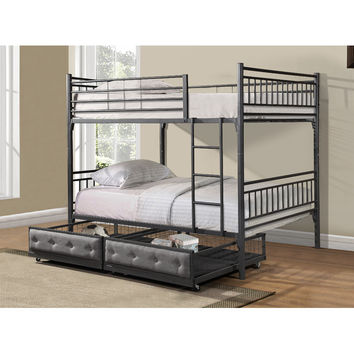 Hazelwood Home Bunk Bed Drawers You'll Love | Wayfair