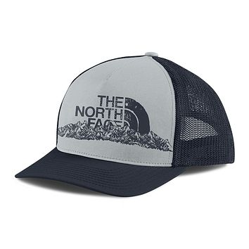 Keep It Structured Trucker Hat in Urban Navy & High Rise Grey by The North Face
