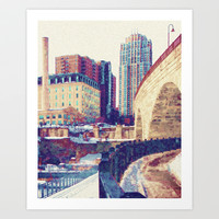 Stone Arch Art Print by Anthony Londer
