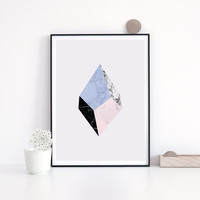 Marble Print, Minimalist print, Nordic Style, Office Decor Wall Art, Marble Artwork, Abstract Art Print, Wall Decor, Modern Print.