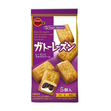Gateau Raisin Cookie from Japan, 2.9 oz (85 g)