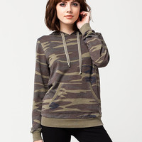 OTHERS FOLLOW Camo Womens Hoodie | Sweatshirts & Hoodies
