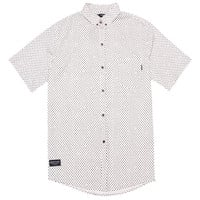 Quiet Life: Painted Dot Button Down Shirt - Cream