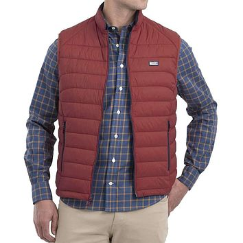 Hudson Quilted 2-Way Zip Front Vest by Johnnie-O