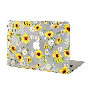 Sunflower MacBook Case