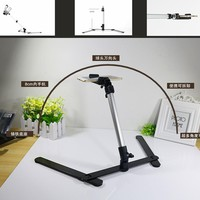 Tracking number 360 angle 40 -80 cm tripod Fold Digital camera transmitted live  phone clamp holder free Photography Backdrops