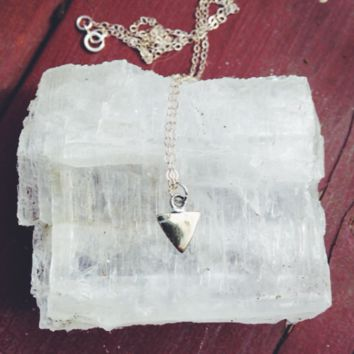 The Itty Triangle Necklace
