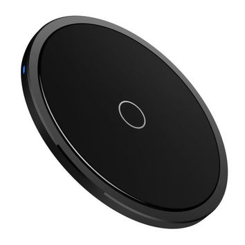 Ultra Slim Qi Fast Wireless Charger Rapid Charging