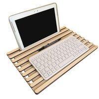 Laser cut wood laptop lap desk,tablet stand,bed desk,lap tray,laptop organizer,laptop tray,lapdesk,desk organizer,office desk accessories
