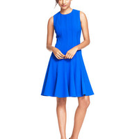 Calvin Klein Princess Seam A Line Dress