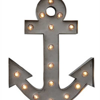 Metal LED Anchor Lamp