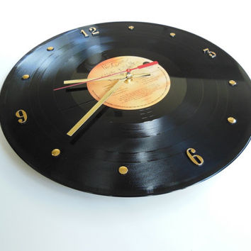THE CURE Vinyl Record Wall Clock (Kiss Me, Kiss Me, Kiss Me)