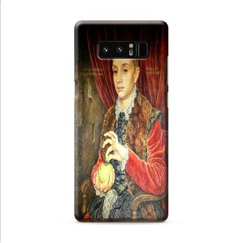 Boy With Apple Grand Budapest Hotel 1 Samsung Galaxy Note 8 case