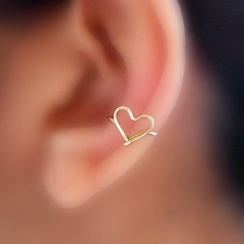 Sweet Heart Ear Cuff