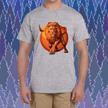 lion king design for tshirt