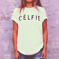 CELFIE tshirt for women tshirts shirts shirt top