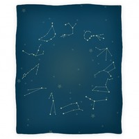 Zodiac Constellation Blanket