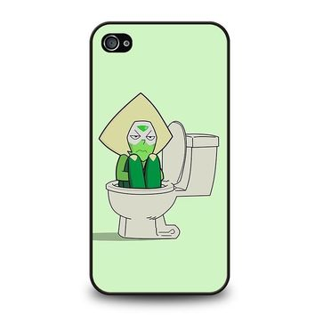 STEVEN UNIVERSE PERIDOT IN TOILET iPhone 4 / 4S Case Cover