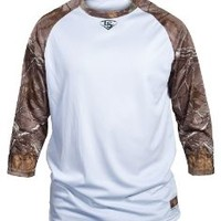 Adult Slugger® Loose-Fit 3/4 Sleeves RealTree® Xtra
