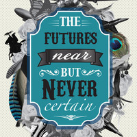 The Future's Near But Never Certain Art Print by Lee Anne Steers | Society6