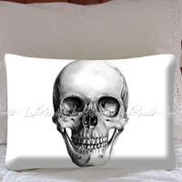 Cool Skull Pillow on Decorative Pillow Covers