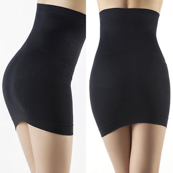 Women Slimming Body Shapers Seamless Corset Hip Waist Trainer Cincher Shapewear Skirt M L PY SM6