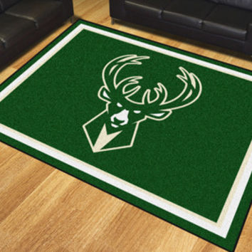 Milwaukee Bucks 8x10 Rug