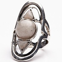 Free People Womens Cosmic Stone Ring