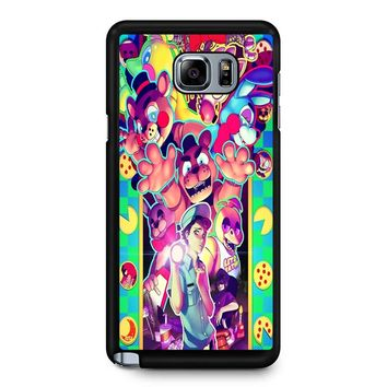 Five Nights At Freddy S 8 Samsung Galaxy Note 5 Case