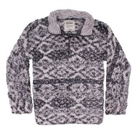 Tribal Frosty Tipped Women's Stadium Pullover in Putty by True Grit (Dylan)