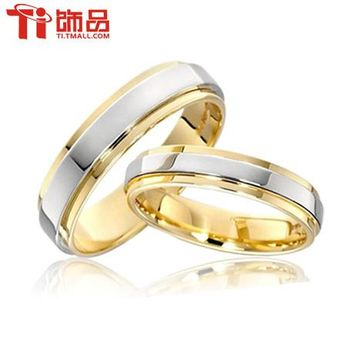 Free Shipping Super Deal Ring Size 3-14 Titanium Woman Man's wedding Rings Couple Rings,can engraving  (price is for one ring)