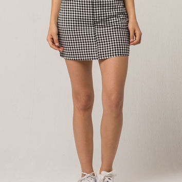 IVY & MAIN Gingham Mini Skirt