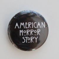 American Horror Story Button